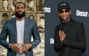Travis Scott and LeBron James team up for 'Class of 2020' charity t-shirt