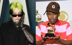"""Billie Eilish says Tyler, the Creator """"inspired every part of everything about me"""""""