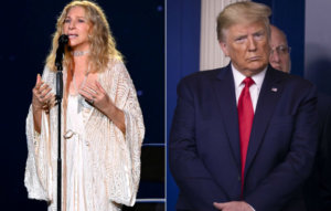 """Barbra Streisand hits out at """"mentally and morally unfit"""" Donald Trump"""