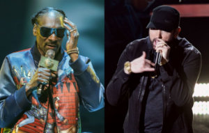 Snoop Dogg says Eminem isn't in his list of the top 10 rappers of all time