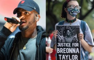 Bryson Tiller honours Breonna Taylor with billboard messages in Kentucky