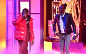 Watch Travis Scott and Young Thug debut 'Franchise' live at Rihanna's Savage X Fenty show