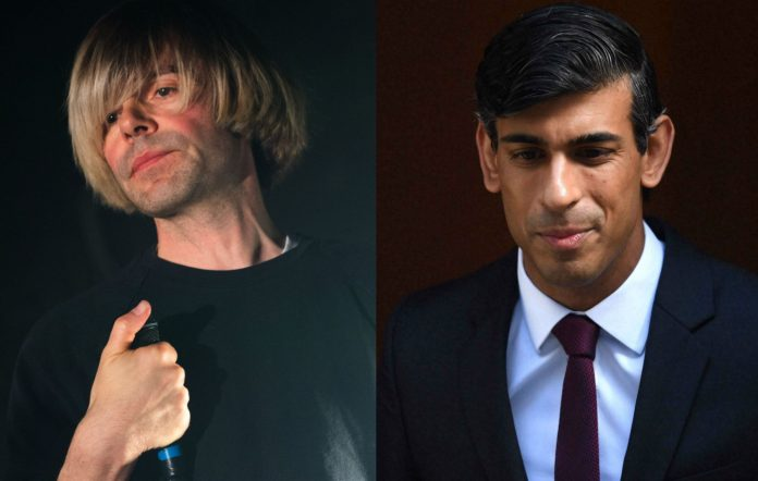 """Tim Burgess writes to Rishi Sunak: Other countries have """"found a way"""" to support arts workers"""