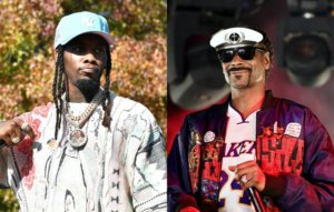 """Offset responds to Snoop Dogg's criticism of 'WAP': """"We talk about the same shit"""""""