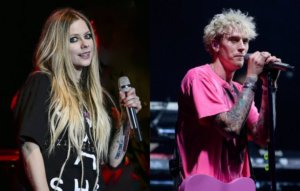 Avril Lavigne is recording new music with Machine Gun Kelly