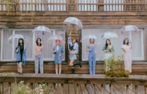 """OH MY GIRL on their growth: """"We've told our story from various perspectives and situations"""""""