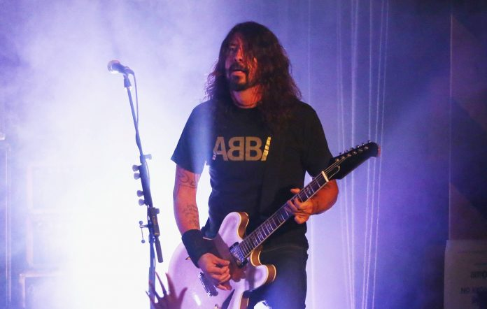 """Dave Grohl is open to playing drums for ABBA: """"I'm such a big ABBA fan"""""""