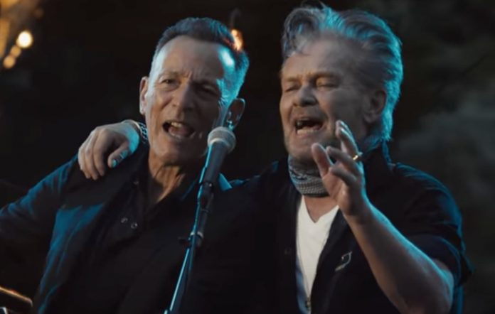 John Mellencamp and Bruce Springsteen team up for the first time on new song 'Wasted Days'