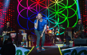 With Coldplay's eco-friendly tour, music is again at the forefront of progressive ideas